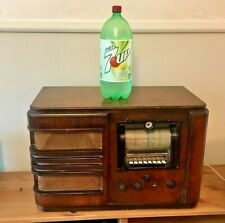 Rare working Antique Pilot H-484 H484 huge table top tube radio Shippable