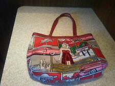 Isabella Fiore Hollywood Icon Beaded and Sequined Small Hand Bag / Tote