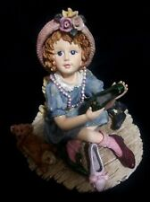 Boyd's Yesterday's Child Figurine Georgette With Hayden-Filling Momma's Shoes