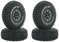 "Duratrax Scaler CR C3 2.2"" Mounted Tirea / Wheels (4) Rock Crawler Wraith SCX10"