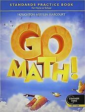 Go Math!: Student Practice Book Grade 4 by HOUGHTON MIFFLIN HARCOURT