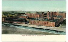 Providence RI - BROWN & SHARPE MANUFACTURING COMPANY FACTORY - Postcard