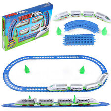 Electric Operated Super Speed Bullet Train And Track Set Children Christmas Gift