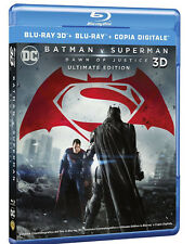 BATMAN V SUPERMAN: Dawn of Justice (BLU-RAY 3D + 2D) Ben Affleck, Henry Cavill