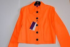 $3,900 Authentic NWT Ralph Lauren Collection Purple Label Leather Orange Jacket