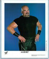 WWE ALBERT P-659 OFFICIAL LICENSED AUTHENTIC ORIGINAL 8X10 PROMO PHOTO VERY RARE