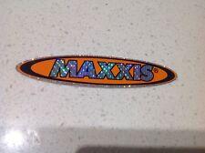 MAXXIS RACING TYRES STICKER,MOTOCROSS HONDA SUZUKI KTM KAWASAKI 4x4 MAZDA FORD