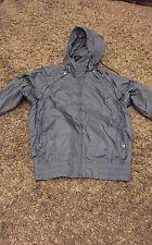 Mens waterproof jacket by 55DSL (diesel) size M dark blue New