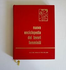 Nuova Enciclopedia Dei Lavori Femminili Italy Needlepoint Book 1983 No English