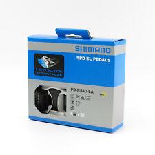Shimano PD-R540-LA SPD-SL Aluminum Road Bike Light Action Flat Platform Pedals