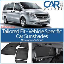 Mercedes Vito 2015> XLWB CAR WINDOW SUN SHADE BABY SEAT CHILD BOOSTER BLIND UV