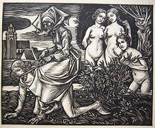 R. Schiestl la morte di Basilea 1926 Totentanz Danse Macabre de Bâle danse of Death