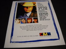 DWIGHT YOAKAM others... The Other Side Of Country... 1995 PROMO POSTER AD mint
