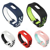 WO_ Replacement Soft Silicone Strap Wrist Watch Band for Garmin Vivofit 4 Seraph