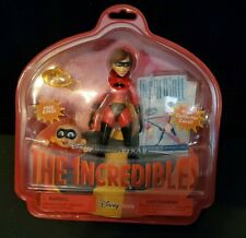 Disney Pixar The Incredibles Elastigirl Helen Parr & Jack-Jack Carded Figure Set