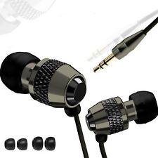 In Ear Headphones Earphones Earbuds Music Sport Gym For Iphone Samsung HTC 3.5mm
