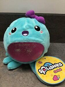 Super Splishies Wave 1 Orizi Octopus 11.5cm Squishy Swirling Glitter New In Box