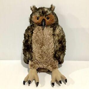 Melissa & Doug Owl Plush Soft Toy - 40cm - Life-Like Animal Stuffed Toy