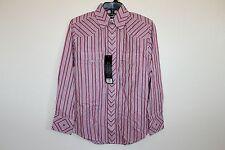 Wrangler Men's Western Shirt Long Sleeve Small