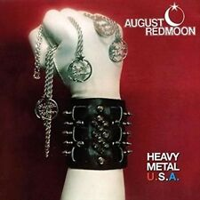 August Redmoon Heavy Metal USA CD European Hne 2015 17 Track Still