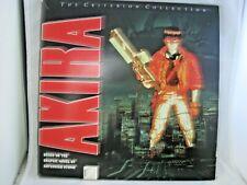 Criterion Collection Akira Katsuhiro Otomo 1st Print 1992 LaserDisc 3 Discs Set