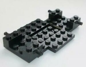 Lego 6x10x1 Vehicle Chassis With Axles - Black - ID 65202 black New X2 Ref:D189