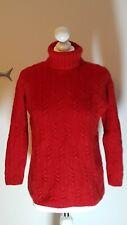 TSE Kaschmir Cashmere Pullover Jumper Zopf Dick 36 38