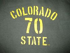 NWT MV Sport Large Pro-Weave® Open Bottom Sweatpants Colorado State Logo