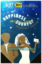 BEST BUY 2007 WEDDING ANNIVERSARY HAPPINESS BONHEUR RARE COLLECTIBLE GIFT CARD