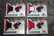 BRIAN ELLIOT 2010-11 PANINI ALL GOALIES STOPPER SWEATERS PATCH LOT 4 COLORS