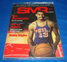 December 2019 SMR the Official PSA Price Guide Wilt Chamberlain Sealed
