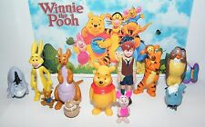 Disney Winnie the Pooh Figure Set of 12 with Pooh, Christopher Robin, Piglet Etc