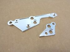 NEW HPI BAJA 5B 5T SILVER ALUMINUM HD ENGINE MOUNT BRACES LEFT RIGHT ROVAN