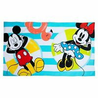 Disney Mickey Mouse and Minnie Summer Fun Beach Towel New