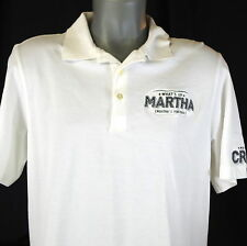 "Vineyard Vines Whats Up Martha Mens Medium Polo Shirt Martha's Crew 42"" Chest"