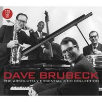 DAVE BRUBECK - THE ABSOLUTELY ESSENTIAL 3CD COLLECTION 3 CD NEW!
