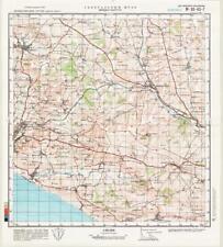 Russian Soviet Military Topographic Maps - MAIDEN NEWTON (UK, Dorset), ed. 1981