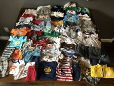 Large Mixed Lot of Boy Baby Clothing 0-9 Month Sizes