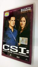CSI Scena del crimine  Crime Scene Investigation DVD Serie TV Stagione 4 vol. 4