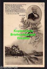 116436 AK Assmannshausen 1928 Künstlerkarte Dichter und Schriftsteller Julius Wo