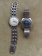Konvolut 2 DUGENA TROPICA Automatic Armbanduhren Edelstahl 70er Jahre