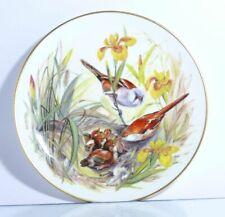 Collection Plate Hutschenreuther Birds Morgenschmaus Der Bartmeisen Certificate
