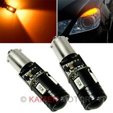 Amber 64136 Error Free Cree Led 4-Smd Front Turn Signal Light Bax9S 64132 #A51 (Fits: Rabbit)