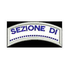 [Patch] CAI CLUB ALPINO ITALIANO cm 7x3 toppa ricamata ricamo termoadesiva -152