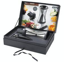 Gefu Spirelli XL Premium Set Spiralschneider Gemüseschneider Sparschäler 13700