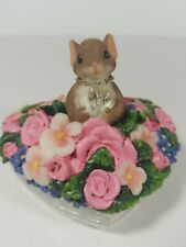 Charming Tails A Mother's Love Lidded Box Retired 89237