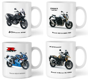 Motorbike Mug with SUZUKI Motorcycle Gift