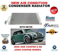 Per Mini Aria Condizionata Condensatore Radiatore 2006 - > 2013 One Cooper S SD John Cooper Works
