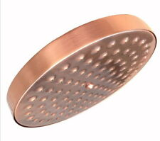 New Antique Red Copper Round Bathroom Rainfall Shower Head Ksh032