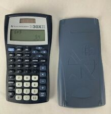 Texas Instruments Ti-30X Iis Blue Scientific Solar With Slide Cover